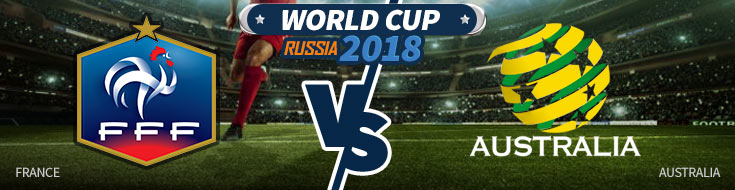 France vs. Australia - Day two World Cup Betting Preview