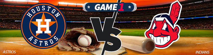 Houston Astros vs. Cleveland Indians MLB Betting Odds