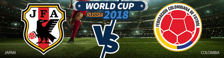 Japan vs. Colombia - World Cup Betting Preview