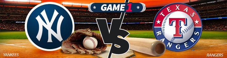 New York Yankees vs. Texas Rangers MLB Betting Odds May 21st, 2018