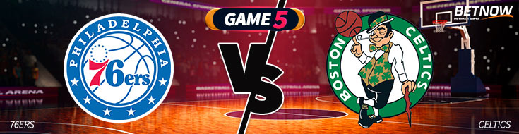 Philadelphia 76ers vs. Boston Celtics NBA Playoffs Betting Odds