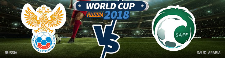 Russia vs. Saudi Arabia Odds and predictions - Worl Cup 2018