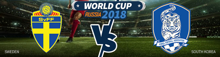 Sweden vs. South Korea - World Cup Betting