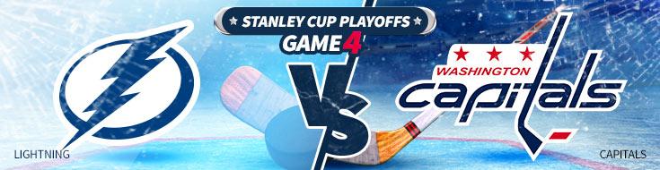 Tampa Bay Lightning vs. Washington Capitals NHL Betting Preview