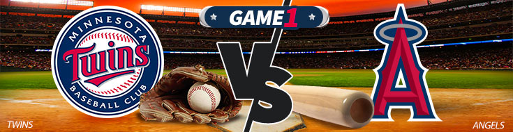 Minnesota Twins vs. Los Angeles Angels Game 1 betting. Thursday May 10th, 2018