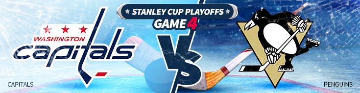 Washington Capitals vs. Pittsburgh Penguins NHL Betting Preveiw
