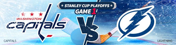 Washington Capitals vs. Tampa Bay Lightning NHL Betting Preveiw