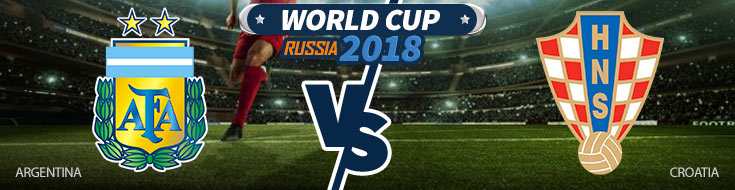 Argentina vs. Croatia - World Cup Betting