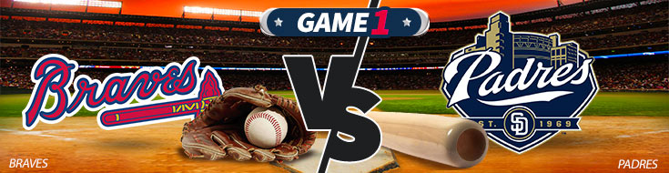 Atlanta Braves vs. San Diego Padres MLB Betting odds