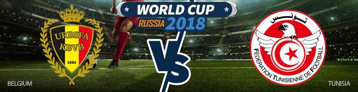 Belgium vs. Tunisia