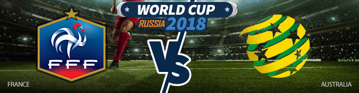 France vs. Australia - World Cup Betting Odds