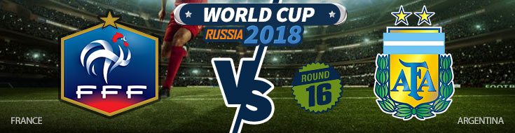 France vs. Argentina World Cup Betting Odds
