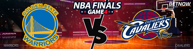 Golden State Warriors vs. Cleveland Cavaliers - NBA Finals Betting Odds
