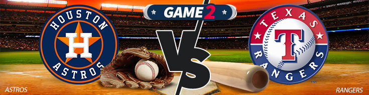 Houston Astros vs. Texas Rangers - MLB Betting Odds
