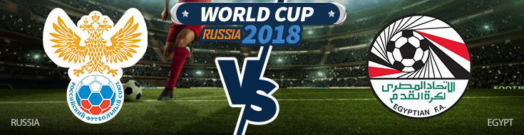 Russia vs. Egypt - World Cup Betting Preview