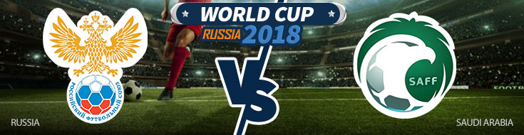 Russia vs. Saudi Arabia World Cup Opening Match betting preview