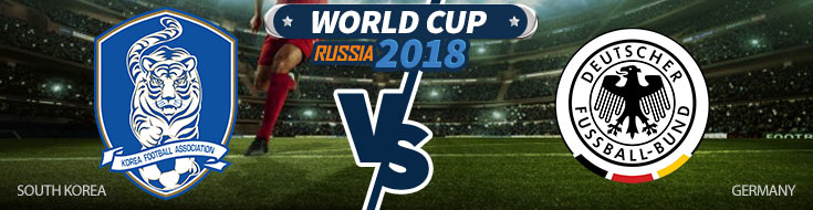 South Korea vs. Germany World Cup betting
