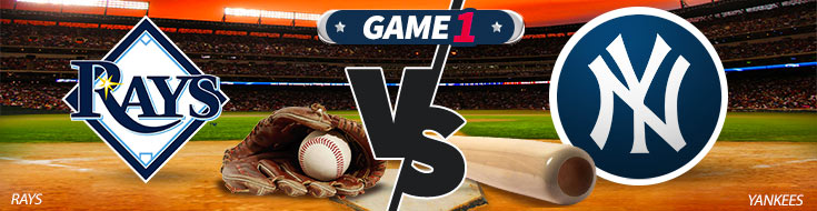 Tampa Bay Rays vs. New York Yankees - MLB Betting Prevewi