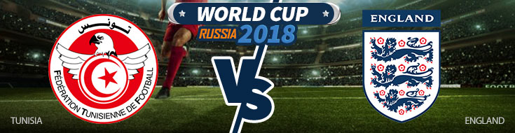 Tunisia vs. England - World CUp Betting Odds