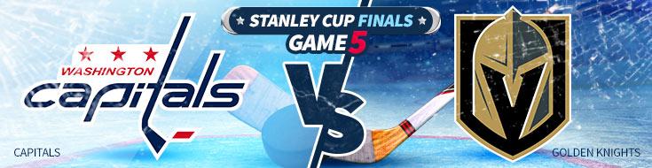 Washington Capitals vs. Vegas Golden Knights - Stanley Cup Betting