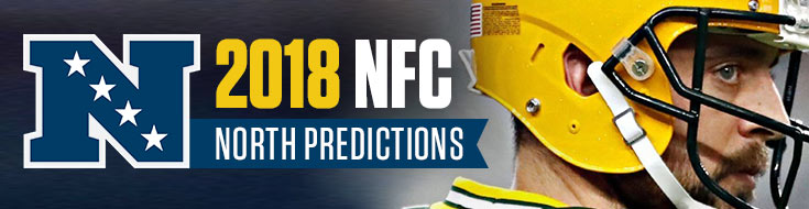 An Image previewing Aaron Rodgers and the NFC North - v2018 NFC North Predictions