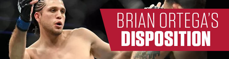 An Image of Brian Ortega's Disposition