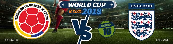 Colombia vs. England