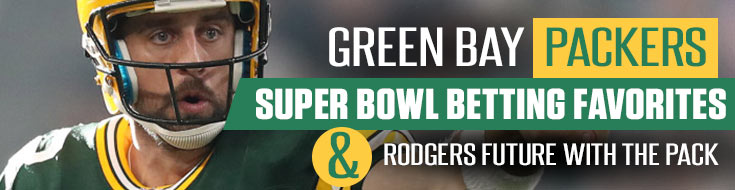 Green Bay Packers Super Bowl Betting Favorites - Contains an image of Aaron Rodgers