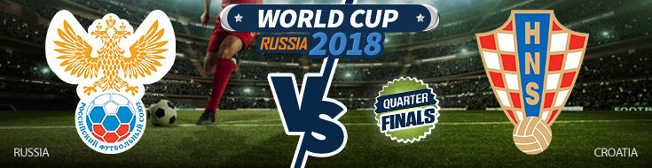 Russia vs. Croatia - WOrld Cup Quarterfinals