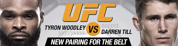 Image of Tyron Woodley vs. Darren Till