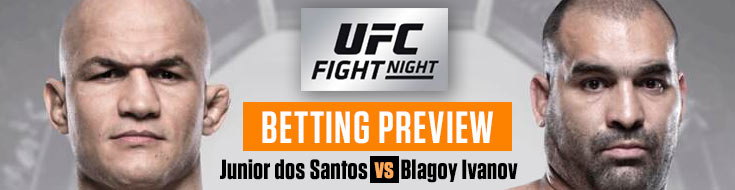 UFC Fight Night 133: dos Santos vs. Ivanov betting odds and analysis