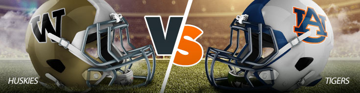 Washington Huskies vs. Auburn Tigers College Football Betting Odds and expert predictions