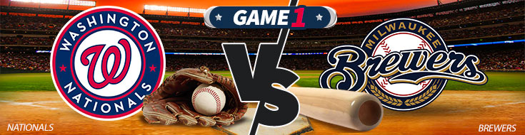 Image Previewing Washington Nationals vs. Milwaukee Brewers Betting Matchup
