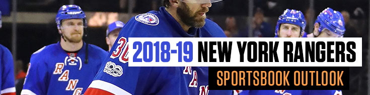 2018-19 New York Rangers Sportsbook Outlook Sportsbook News