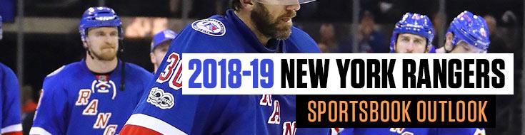2018-19 New York Rangers Sportsbook Outlook Sportsbook News