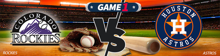 Coloardo Rockies vs. Houston Astros