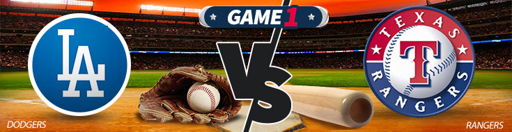Los Angeles Dodgers vs. Texas Rangers Team Logos and Betting Preview