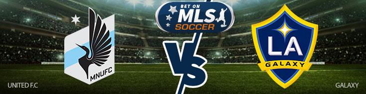 Minnesota United FC vs. LA Galaxy Team Logo - Sportsbook Betting Previwe
