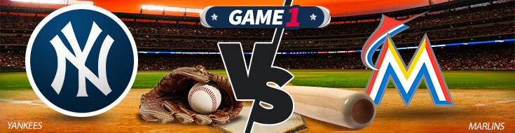 New York Yankees vs. Miami Marlins Logos & Betting Preview