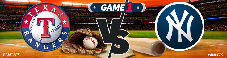 Texas Rangers vs. New York Yankes Betting Preview