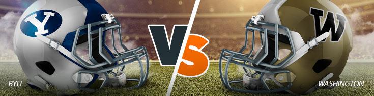 BYU Cougars vs. Washington Huskies Odds