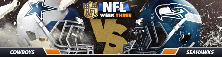 Dallas Cowboys vs. Seattle Seahawks NFL Betting Odds