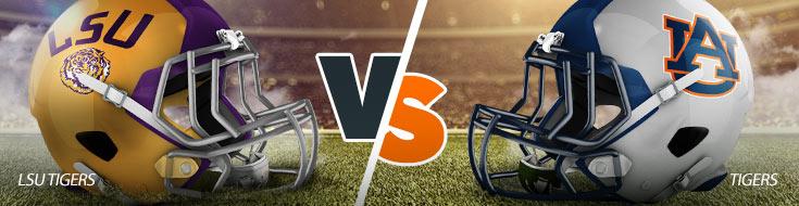 LSU TIgers vs. Auburn Tigers