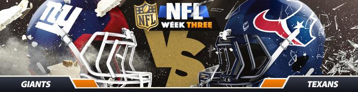 New York Giants vs. Houston Texans NFL Betting Odds