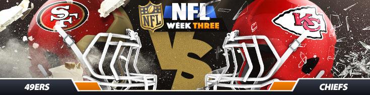 San Francisco 49ers vs. Kansas City Chiefs NFL Betting Odds
