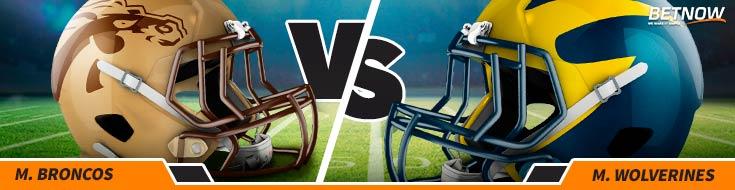 Western Michigan Broncos vs. Michigan Wolverines