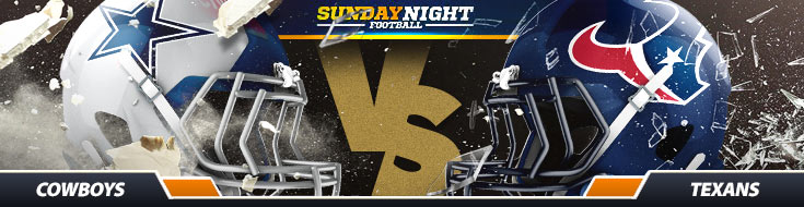 Dallas Cowboys vs. Houston Texans NFL Betting Sunday