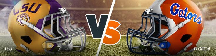 LSU Tigers vs. Florida Gators College Football Betting