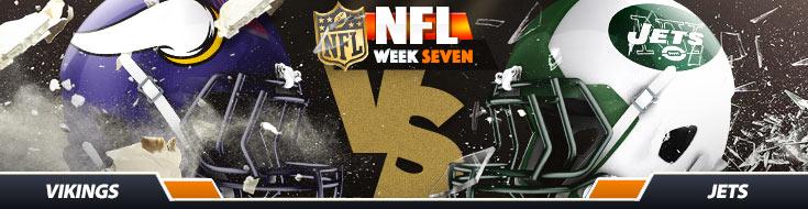 Minnesota Vikings vs. New York Jets Week 7 Betting Picks