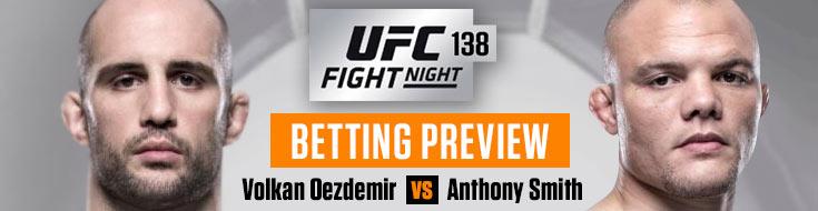 UFC Fight Night 138 Betting Picks